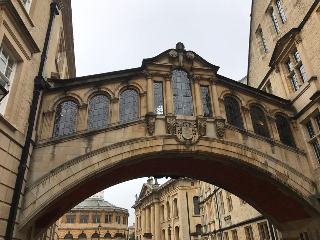 bezienswaardigheden in Oxford: Bridge of sighs