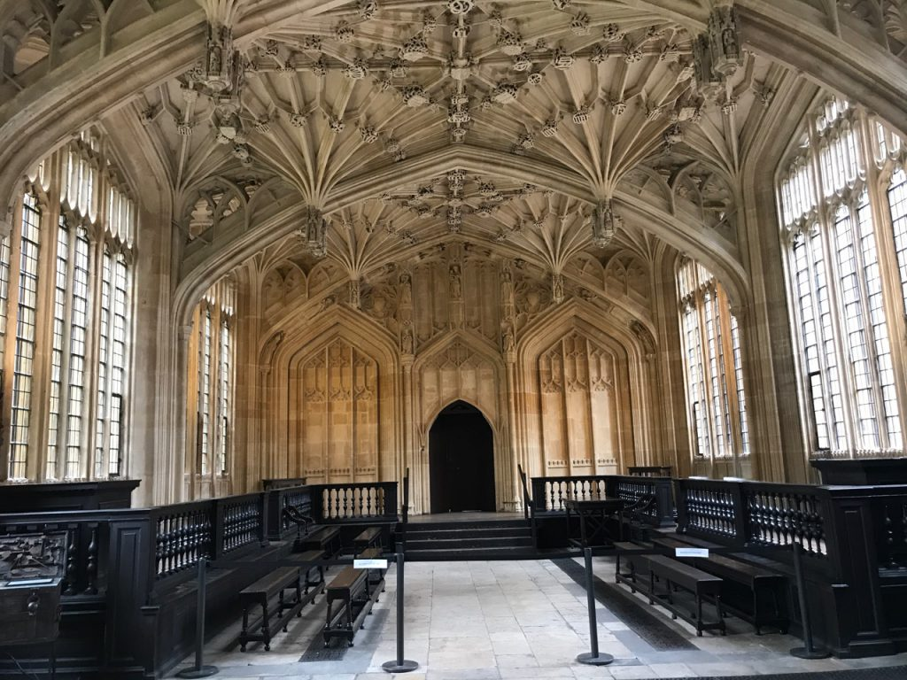 bezienswaardigheden in Oxford: Divinity School