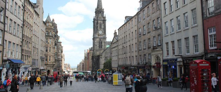 Bezienswaardigheden aan de Royal Mile in Edinburgh