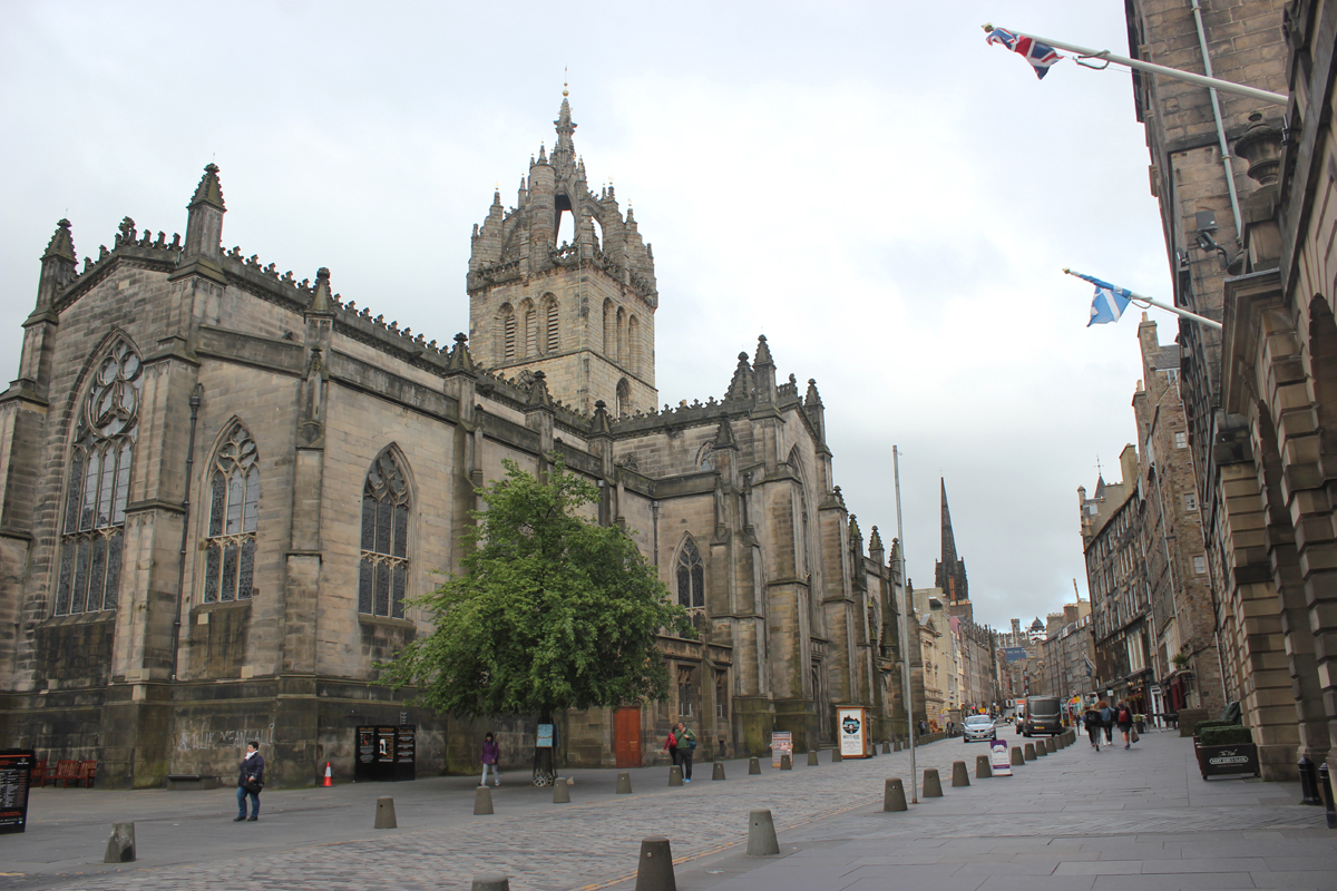 bezienswaardigheden Edinburgh Royal Mile - St. Giles Cathedral
