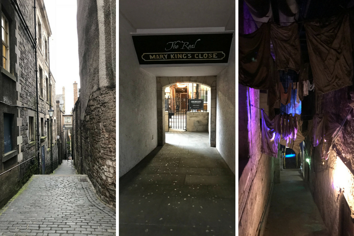 bezienswaardigheden Edinburgh Royal Mile - real mary kings close