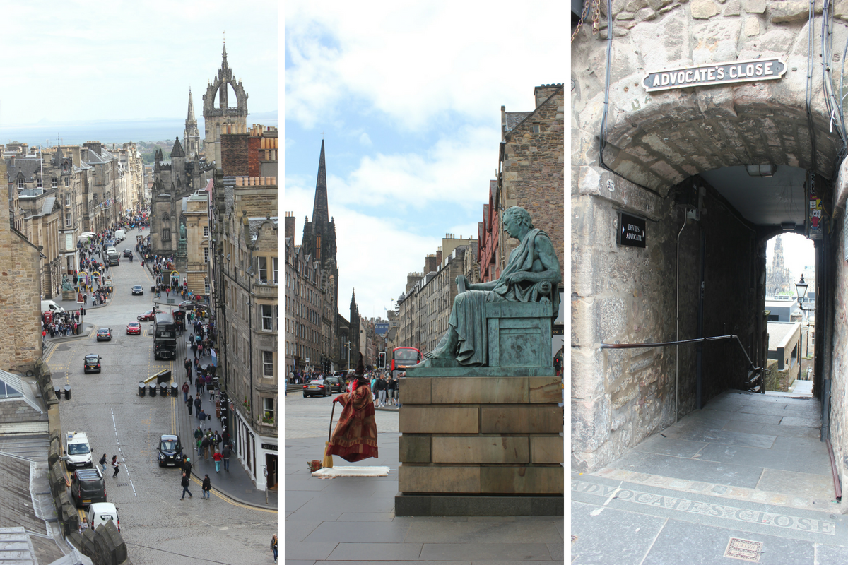 bezienswaardigheden in Edinburgh - Royal Mile
