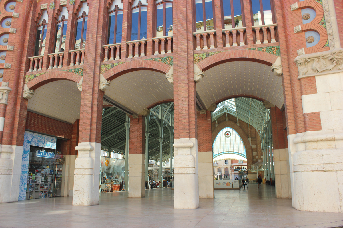 bezienswaardigheden in valencia - Mercado Colon