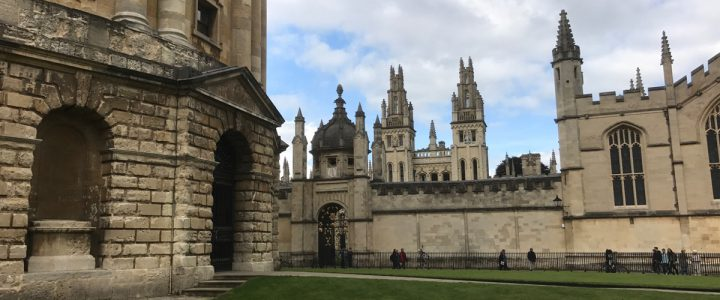 Harry Potter filmlocaties in Oxford bezoeken