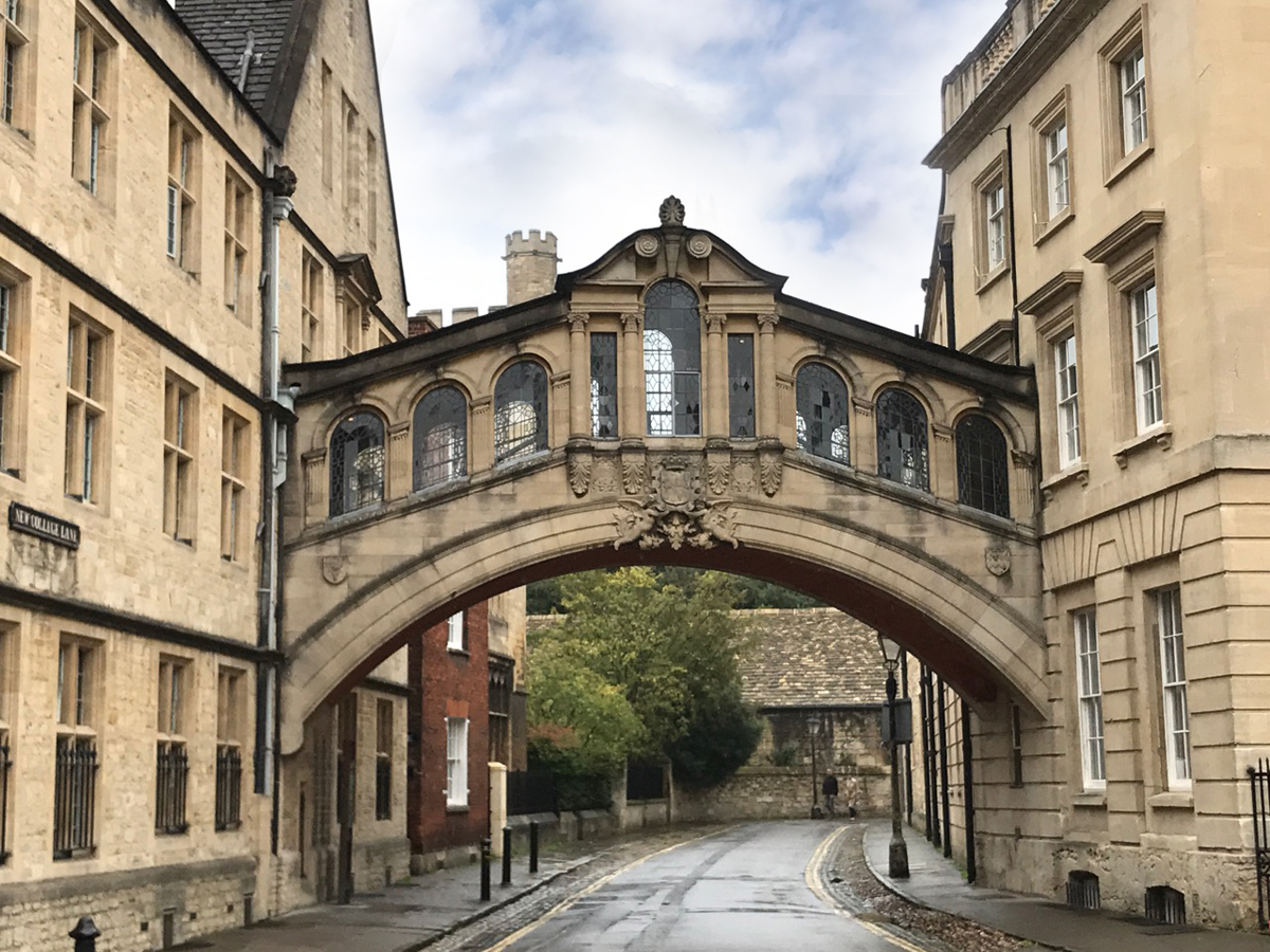 harry potter filmlocaties in oxford-bridges of sighs