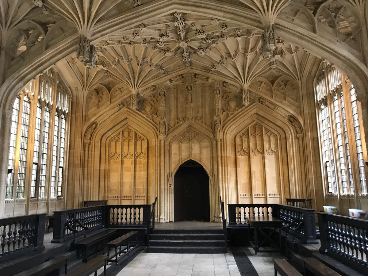 harry potter filmlocaties in oxford- divinity school