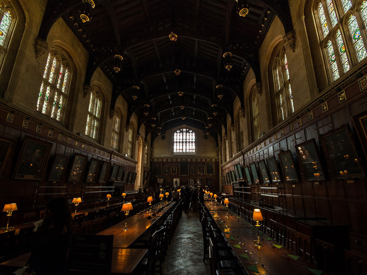 harry potter filmlocaties in oxford-the great hall in christ church college