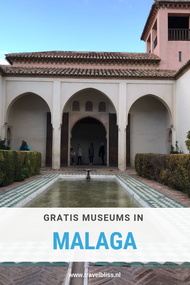 Gratis museums in Malaga op zondag | www.travelbliss.nl
