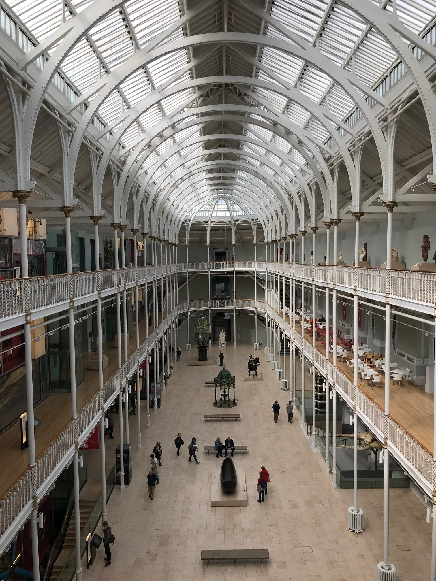 National Museum of Scotland - gratis museum bezoeken